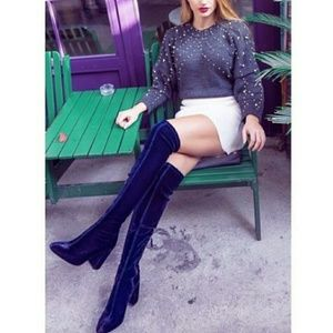 ❤HP❤Zara stretch leg over the knee boots